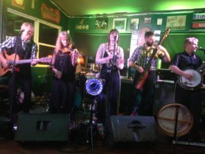 Wild Mountain entertained the faithful at Clancy's Irish Pub Saturday night.