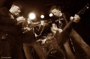 Indigent Row provide Celtic Progressive Rock, and Irish Trad Fusion. Get up off your arse and dance!