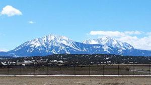 Spanish Peaks, Huerfano County Colorado (photo courtesy of Wikimedia Commons)